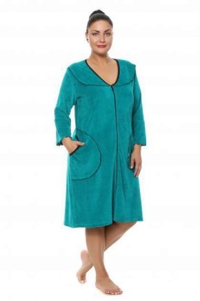Домашние платья больших размеров для полных женщин
