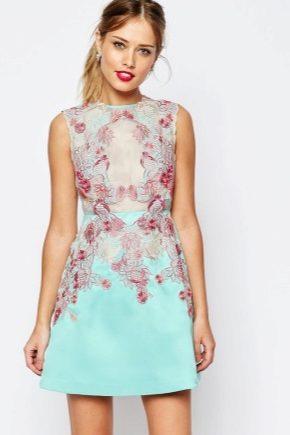 fdb86845672 Короткие летние платья 2019 (107 фото)  с коротким рукавом