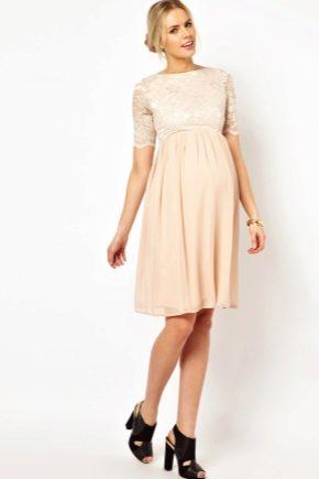 Красивые платья для беременных (51 фото)  нарядные, на праздник ... ace245e1fb8