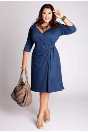 df5be4201f4 Платья для полных женщин (106 фото) 2019  больших размеров