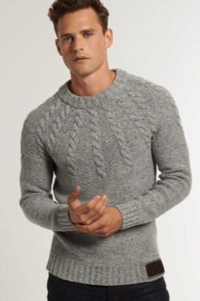 fe9ed86836e Мужской свитер (114 фото) 2019  с оленями