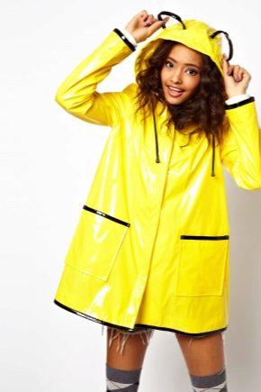 Плащ-дождевик – надежная защита в ненастную погоду