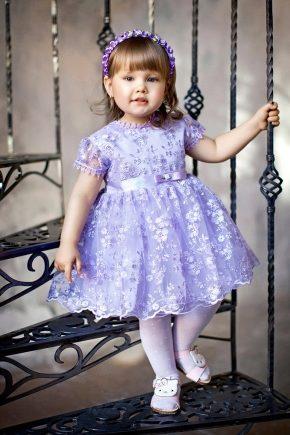 Платья для детей поющих