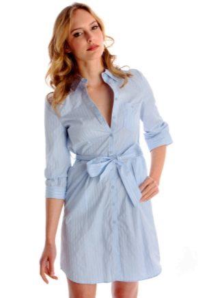 Платье-рубашка – новинки 2018 года