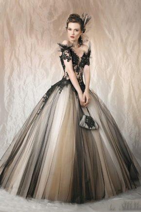 Пышные выпускные платья 2017