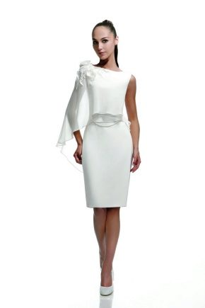 274dd984dba Свадебное платье-футляр (53 фото)  с кружевом