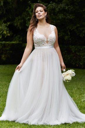 свадебные платья с красивым корсетом