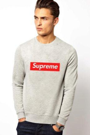 Свитшоты от Supreme: модели для ярких личностей