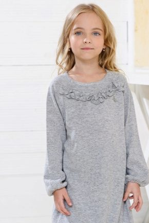Теплые платья для девочек - новый тренд сезона