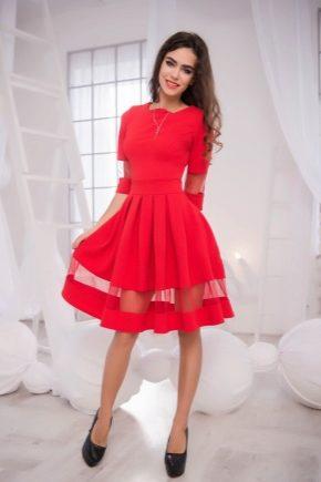13e81dd7417 Красное вечернее платье 2019 (75 фото)  макияж
