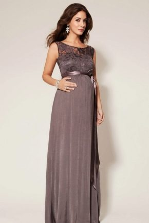 Вечерние и коктейльные платья для беременных