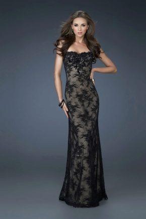 Вечерние кружевные платья - верх нежности и изящества