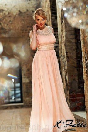 e249a06732c Вечерние платья из шифона (86 фото)  стильные образы