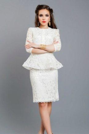 Кофта-юбка как платье