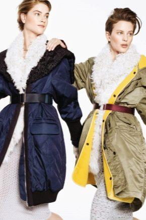 Болоньевое пальто 2018