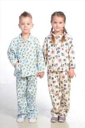 Детская фланелевая пижама
