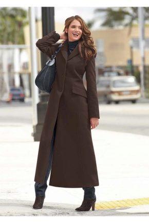 1b7f57c647d6 Длинное пальто 2019 (121 фото)  с чем и как носить, в пол, образы, с ...