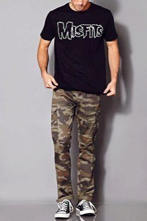 Камуфляжные мужские штаны