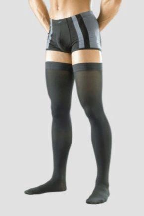 Компрессионное мужское белье и чулки