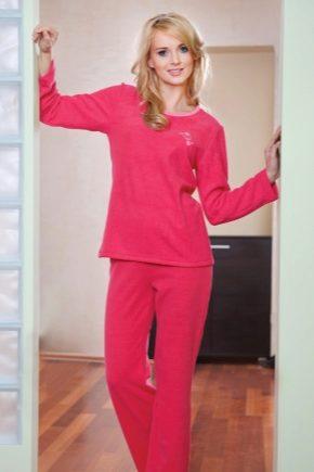 Махровая пижама - тепло и уют!