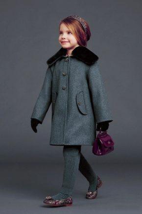 Модные детские пальто 2019 года