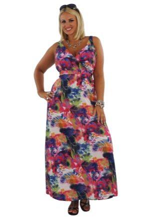 Модные и красивые сарафаны для полных женщин