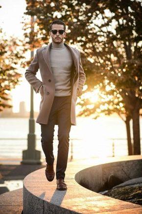984fcf2b161 Мужское пальто на осень 2019 (56 фото)  длинное