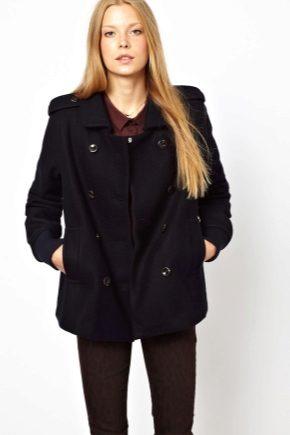 Пальто-бушлат (женское и мужское)