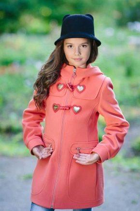 Пальто для подростков