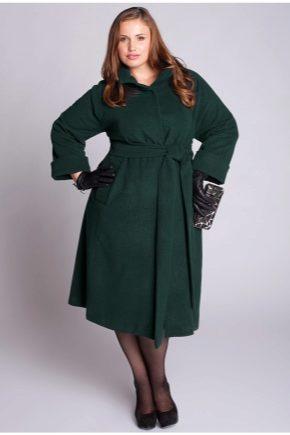 2cfd6154b6b Пальто для полных женщин 2019 (119 фото) больших размеров