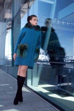 Пальто от фирмы Саманж