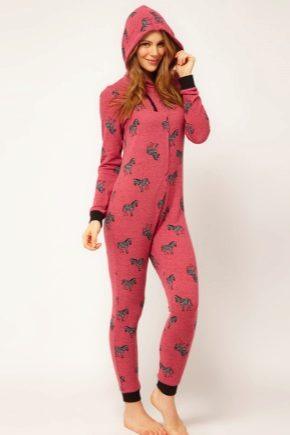 Пижама-комбинезон – для девушки, для взрослого и ребенка