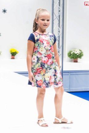 Простое платье для девочки на каждый день