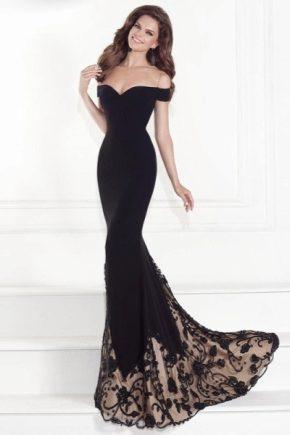 Платье со шлейфом 2019 (104 фото)  короткое спереди, короткое ... 7de7eb2fe31