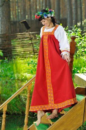 Русский народный сарафан