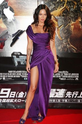 5d665898dad Фиолетовое платье (69 фото)  с чем носить