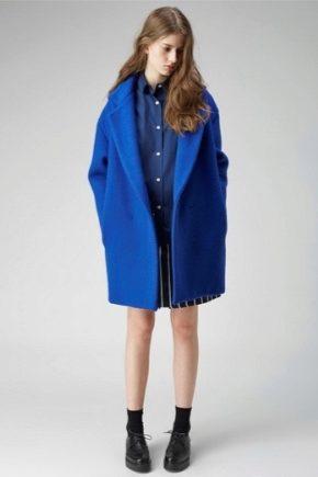 Широкое женское пальто