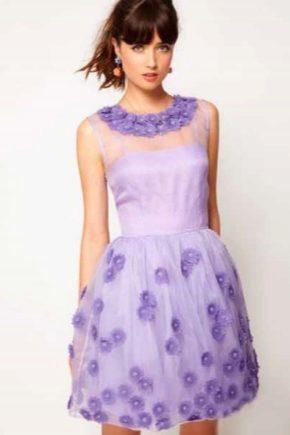 5861b764059ae66 Сиреневое платье (91 фото): с чем носить, в пол, макияж, нежно ...