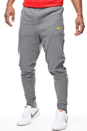 065fa3f8 Спортивные мужские штаны Nike (41 фото): зауженные, с резинкой внизу ...