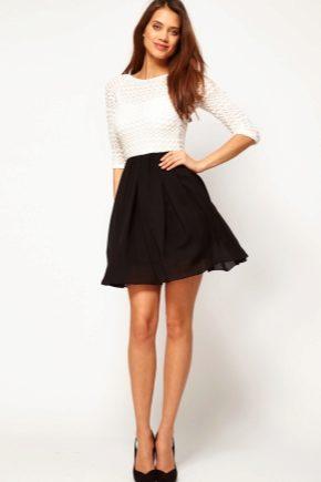 Модели юбок для девушек в школу