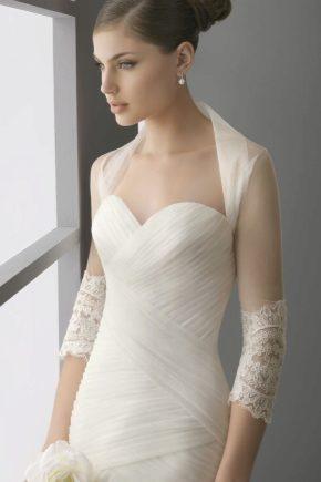 Свадебное болеро для невесты