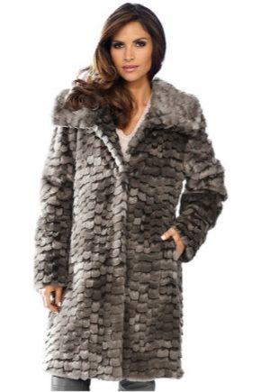 Женские пальто из искусственного меха: стильные варианты