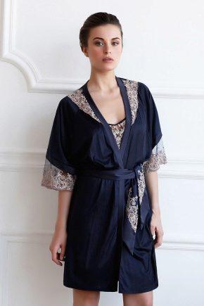 Женский халат с кружевом – соблазнительная роскошь