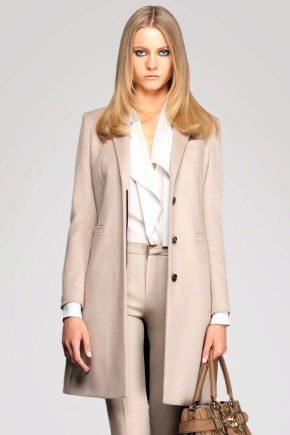 Женское шерстяное пальто