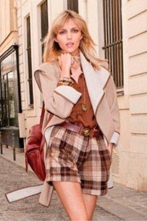 Модные теплые шорты осень-зима 2018 года