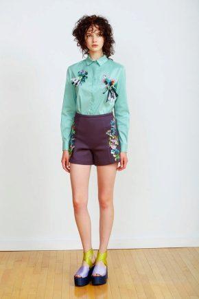 Модные женские шорты 2016 года
