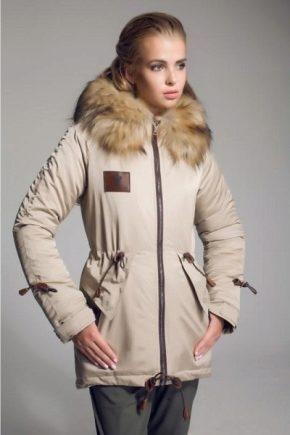 С чем носить куртку-парку?