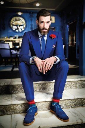 Мужские костюмы 2019 (131 фото)  стильные костюмы для мужчин, костюм ... 444ba8eb2a7