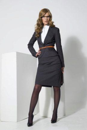 62b47efaaa9 Женский костюм для офиса (69 фото)  стильный офисный для женщин ...