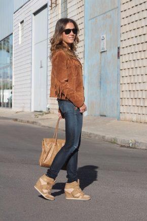 Кеды-сникерсы - стильная альтернатива туфлям